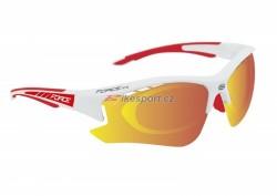 Force brýle RIDE PRO - bílo/červené