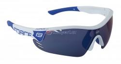 Force brýle RACE PRO - bílo/modré