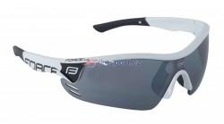 Force brýle RACE PRO - bílo/černé