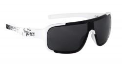 Brýle FORCE CHIC dámské, bílo-černé, černá skla