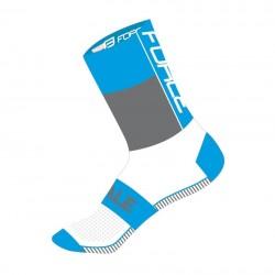 Ponožky FORCE HALE, modro-šedo-bílé
