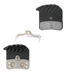 Shimano brzdové destičky BR-M640/820 (polymerové) + chlazení H01A