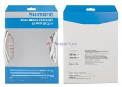 Shimano Dura ace 7900 brzdový set - bowdenů a lanek (bílý)