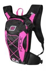FORCE batoh ARON PRO 10 l, černo-růžový