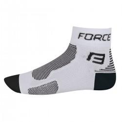 FORCE ponožky 1 (bílo-černé)
