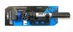 Hustilka (pumpa) BETO CLD-033AG - černá/stříbrná