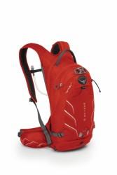 OSPREY RAPTOR 10 batoh+rezervoár červený