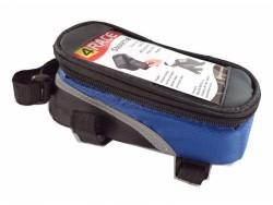 4RACE brašna přední-na mobil (modrá)