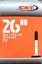 Duše CST 26x1.75/2.125 FV