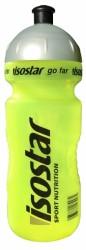 Isostar lahev 0,65L reflexní žlutá, šedé víčko