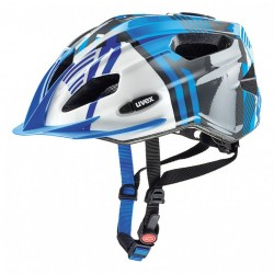 Přilba UVEX 17 Quatro junior blue/silver