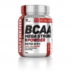 Nutrend BCAA Mega Strong Powder nápoj 500g