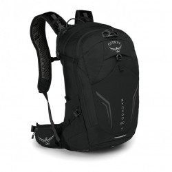 OSPREY SYNCRO 20 batoh + pláštěnka Black