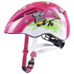 Přilba Uvex Kid 2 CC růžová 46-52 cm