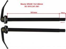 Sram Maxle Lite 12x148mm, délka 180mm, M12x1.75
