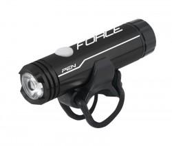 FORCE PEN 200LM, USB světlo přední 1 dioda