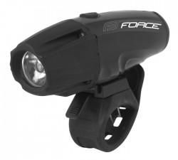 FORCE světlo přední SHARK 700LM USB, černé