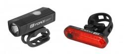 FORCE DOT USB sada světel přední+zadní