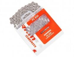 Řetěz SRAM PC 830 114 čl. se spojkou PowerLink Silver