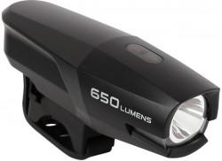 USB dobíjecí svítilna SMART Polaris 700 USB - černá, BL186wp-usb