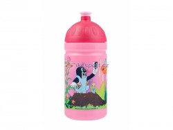 R+B zdravá láhev 0,5L - Krtek, barva růžová