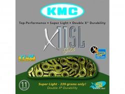 Řetěz KMC X11 SL Gold pro MTB 11-rychlostní