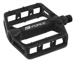 Pedály FORCE BMX HOT hliníkové, černé