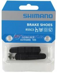 Shimano R55C brzdové gumičky 1pár