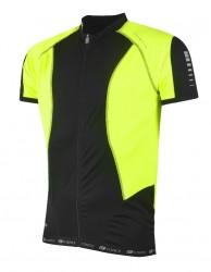 FORCE dres T12 krátký rukáv, barva černo-fluo