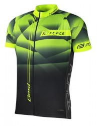 FORCE BEST dres krátký rukáv, fluo-černý