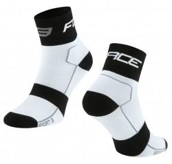 FORCE SPORT 3 ponožky, bílo-černé