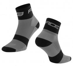 FORCE SPORT 3 ponožky, šedo-černé