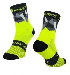 FORCE TRIANGLE ponožky fluo-černé
