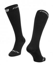FORCE ATHLETIC KOMPRESNÍ ponožky, černé