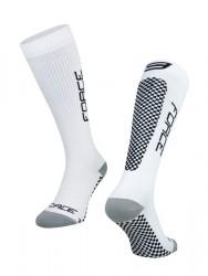 FORCE TESSERA KOMPRESNÍ ponožky, bílé