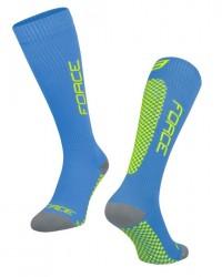 FORCE TESSERA KOMPRESNÍ ponožky, modré