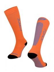 FORCE TESSERA KOMPRESNÍ ponožky, oranžové