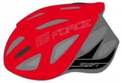 FORCE SWIFT přilba, červená