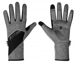 Rukavice Force GALE softshell, jaro-podzim, šedé