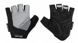 FORCE DARTS gel rukavice bez zapínání, šedé