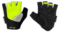 FORCE DARTS gel rukavice bez zapínání, fluo-šedé