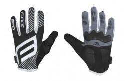 FORCE MTB SPID letní rukavice bez zapínání, černé
