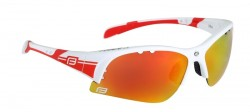 FORCE ULTRA brýle bílé, červená skla