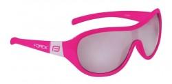 FORCE POKEY dětské brýle, růžovo-bílé