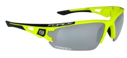 Brýle FORCE CALIBRE fluo žluté, fotochrom. skla
