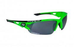 FORCE CALIBRE brýle fluo zelené, černá laser skla