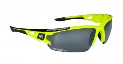 FORCE CALIBRE brýle fluo žluté, černá laser skla