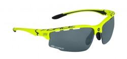 FORCE QUEEN brýle, fluo-černé, černá laser skla