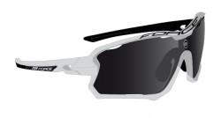 FORCE EDIE brýle bílo-černé, černá skla