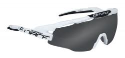 FORCE EVEREST brýle bílo-černé, černá skla